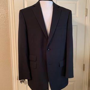 Perry Ellis Black Suit 2 Button 40R